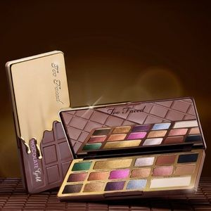 BNIB too faced chocolate gold eyeshadow palette